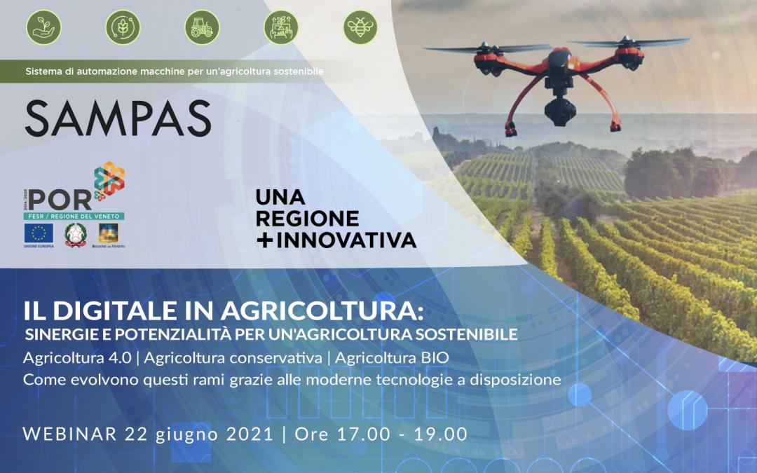 Il Digitale in Agricoltura – webinar 22/06/2021
