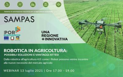Robotica in Agricoltura – webinar 13/07/2021